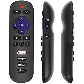 Replaced Remote RC280 with Netflix HBO Sling Key for TCL Roku TV 55S405 40S3800 50UP120 65S401 32S301 32S850 32S3700 32S3750 43FP110 43UP120 48FS3700 48FS3750 50FS3850 50UP120 28S3750 32FS3700