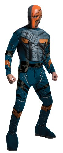 Rubie's Men's Batman Arkham City Deluxe Muscle Chest Deathstroke, Multicolor, Medium -