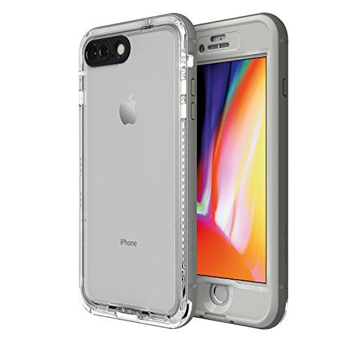 LifeProof NÜÜD Series Waterproof Case for iPhone 8 Plus (ONLY) - Retail Packaging - SNOWCAPPED (Bright White/Sleet)