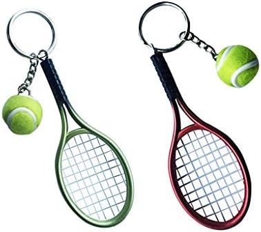 Sharplace Llavero Tenis / Tenis de Mesa Mini Colgante Pelota y ...