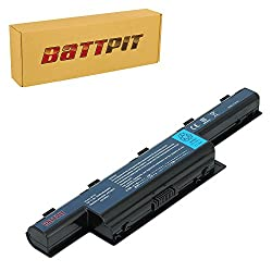 Battpit™ Laptop / Notebook Battery for Acer Aspire E1-531-4444 Aspire E1-531-4406 Aspire E1-531-4665 Aspire E1-531-4632 Aspire E1-531-4461 (4400mAh / 48Wh)