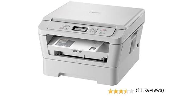 Brother DCP 7055 W - Impresora multifunción láser, Blanco ...