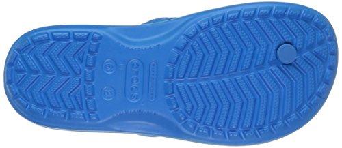Crocs Crocband Flip 11033, Infradito Unisex - Adulto Blu (Ocean/Electric Blue)
