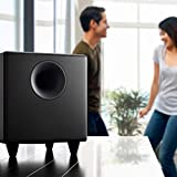 Audioengine S8 250W Powered Subwoofer, Built-in