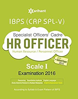 buy ibps crp spl v specialist officer hr officer 2016 study guide rh amazon in Personnel Specialist Exam Personnel Specialist Hickory NC