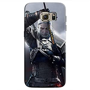 Cover It Up - Silver Witcher blade Galaxy S7 Edge Hard Case