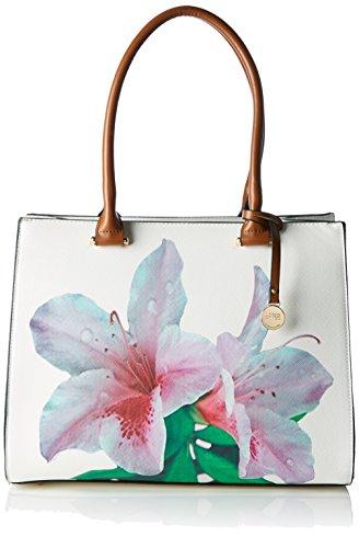 L.Credi Tropical, Borsa a Mano Donna, Multicolore, Taglia unica