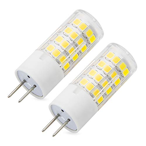G6.35 LED Bulbs 5 W 110V-120 Voltage Warm White 3000K Dimmable G6.35/GY6.35 Bi-Pin Base 45W Halogen Bulbs Equivalent (Pack of 2)