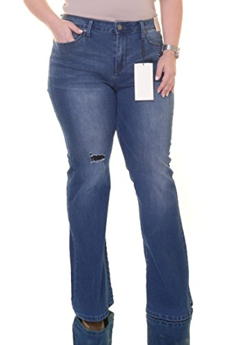 Calvin Klein Jeans Flare-Leg Ripped Jeans Size 31 x 32 Calvin Klein Flare Jeans