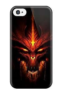 [LmmkHqj124UwDfK]premium Phone Case For Iphone 4/4s/ Diablo Tpu Case Cover Kimberly Kurzendoerfer
