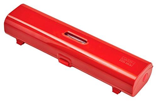 Kuhn Rikon Fast Wrap Flatware Organizer, Red - Flatware Roll