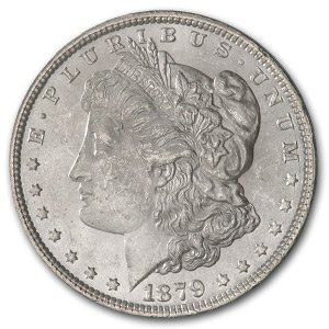 1879 Brilliant Uncirculated (MS-60 - MS-63)