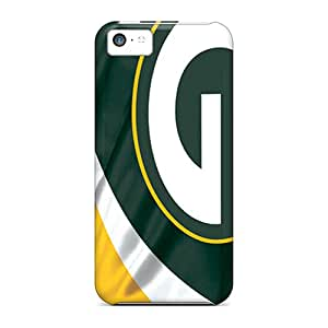 Fashion Protective Green Bay Packers Cases Covers For Iphone 5c