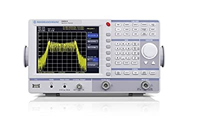 Rohde & Schwarz HMS-X Spectrum Analyzer, Frequency Range 100 kHz to 1.6 GHz, Option to Upgrade to 3 GHz