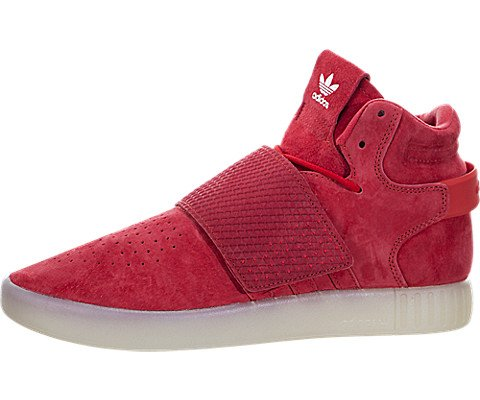 red adidas high tops - 4