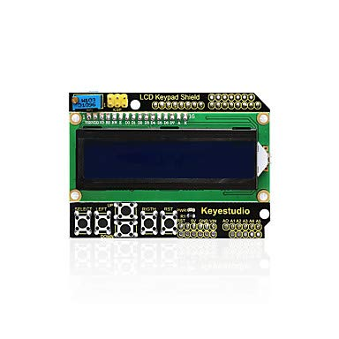 Amazon com: FOR-Arduino Arduino Kits, Keyestudio 1602LCD Keypad