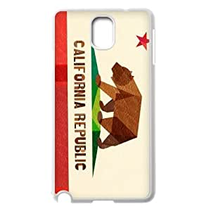 Custom Colorful Case for Samsung Galaxy Note 3 N9000, California Love Cover Case - HL-528274