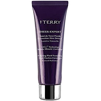f9487e88e34d Amazon.com : BY TERRY Sheer Expert Fluid Foundation No.2 Neutral Beige, 35  ml : Foundation Makeup : Beauty
