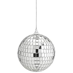 Kicko 4 Inch Mirror Disco Ball - Silver ...