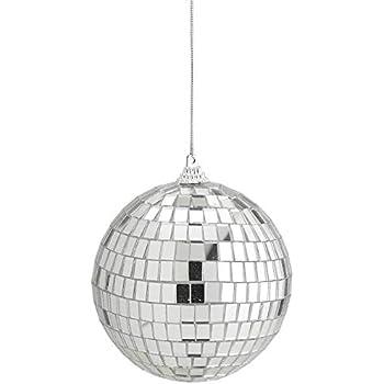 Amazon Com Kicko 4 Inch Mirror Disco Ball Silver