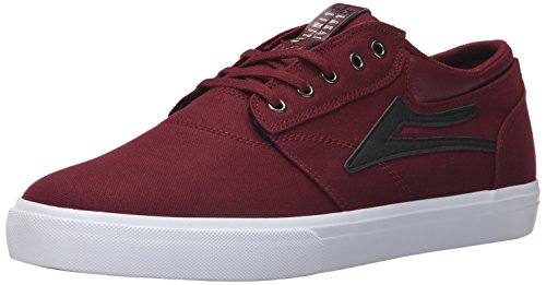Lakai Mens Skateboard Shoe - Lakai Men's Griffin Skate Shoe, Port Canvas, 11 M US