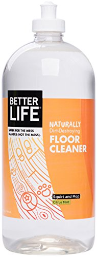 Better Life Naturally Dirt-Destroying Floor Cleaner Citrus