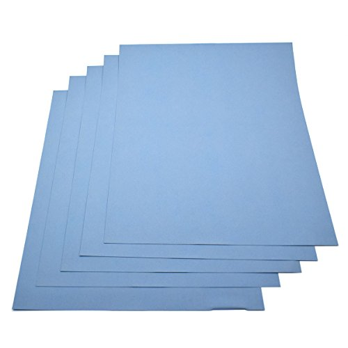 5 Sheets -Grit 4000 Waterproof Paper Wet/dry Silicon Carbide Full Size 911-Inch Sanding Paper -