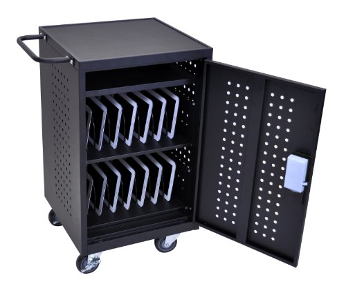 Deluxe Mobile Charging And Storage Cart Multiple Ipad