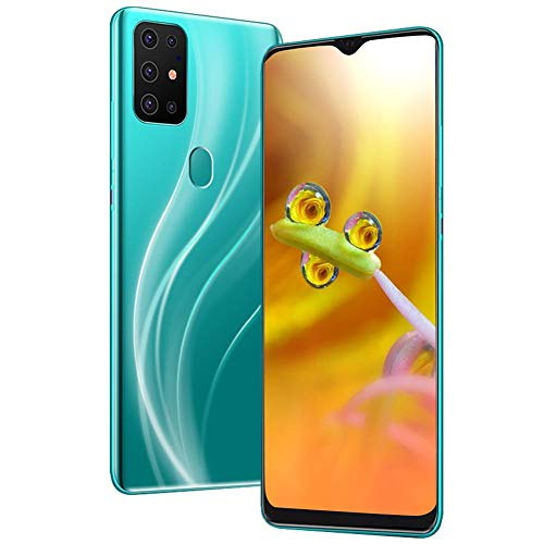 S20 Unlocked Smartphone, Cell Phone with Dual SIM Card Slot, 4 Core Cell Phone, 6.7″HD Screen, 128G Memory Card, 8MP + 13MP Cameras, Android Mobile Phone(Green)