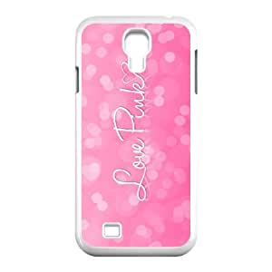 ANCASE Customized Love Pink Pattern Protective Case Cover Skin for Samsung Galaxy S4 I9500