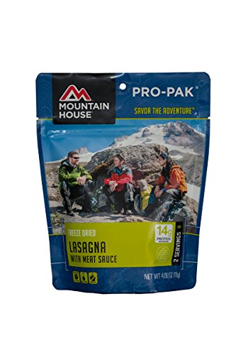 Mountain House Meals - Mountain House Lasagna with Meat Sauce Pro-Pak
