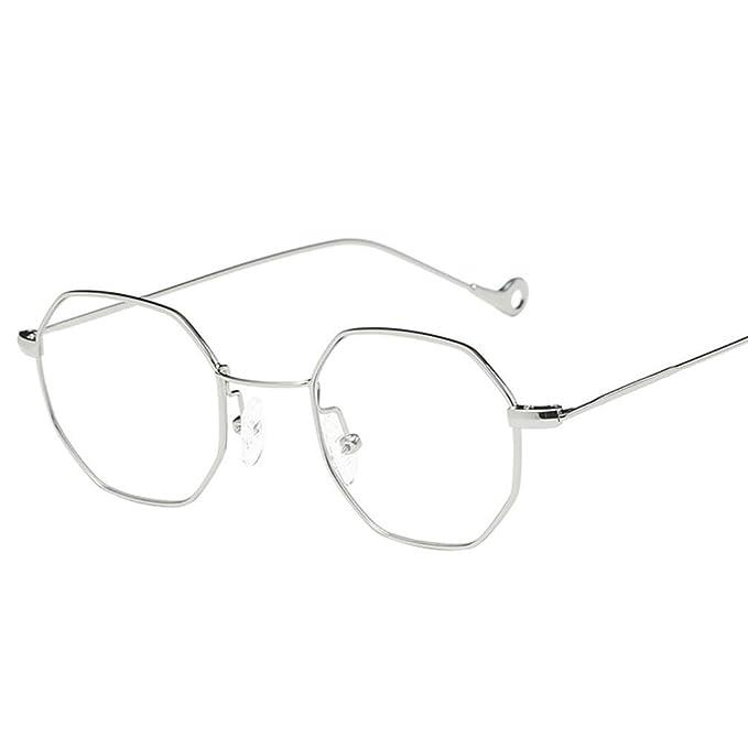 53f5932047 HOMEBABY - Occhiali Sole Uomo Donna Geometria - Vintage Occhiali Da Sole  Rotondi Neutri Tumblr Occhiali Da Vista - Occhiali Aviatore Lenti  Trasparenti ...
