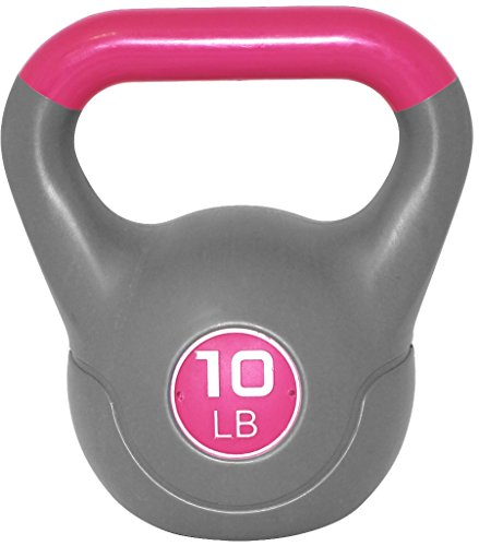 Werk It! Two Tone Kettlebell, 5 lb, Pink