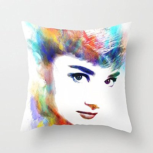 Busy Deals New Audrey Hepburn Pillowcase Home Decoration pillowcase covers