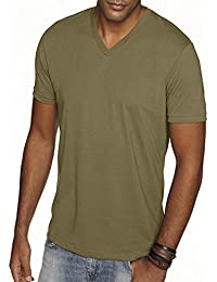 Apparel 6440 Mens Premium Fitted Sueded V-Neck Tee