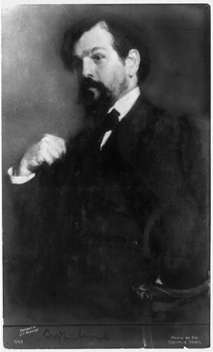 INFINITE PHOTOGRAPHS Photo: Claude Achille Debussy,1862-1918,French Composer,Impressionist Music