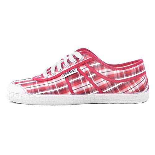 Kawasaki - Zapatillas de Lona para hombre rojo rojo