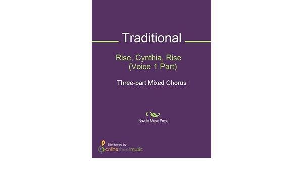 Rise, Cynthia, Rise    (Voice 1 Part)