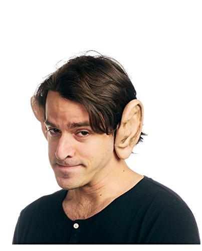 [Cosplay Flexi Big Ears Costume Accessory (Flesh)] (Frodo Costume Mens)
