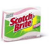 3M 435 Scotch-Brite Light-Duty Cookware Scrub Sponge