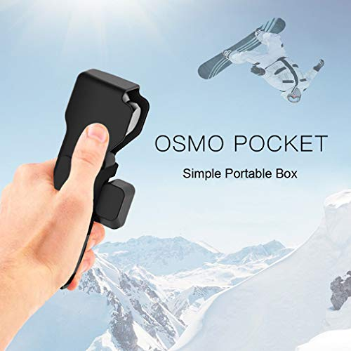 (Sodoop Protective Case for DJI Osmo Pocket Camera, Portable Travel Cameras Protector Case with Wrist Lanyard for DJI Osmo Pocket Camera Accessories)