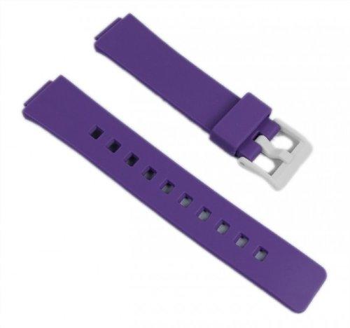 Casio watch strap watchband Resin Band purple LDF-52-6AEF LDF-52 LDF-50 by Casio (Image #3)