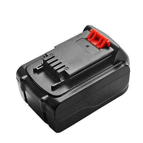 Turpow 4500mAh 20V Li-ion Replacement Battery Compatible with 20-Volt MAX LBXR20 LB20 LBX20 LBXR2020-OPE LBXR20B-2 LB2X4020 Cordless Tool Battery 4500mah Li Ion Battery
