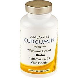 Curcumin und Piperin Kapseln