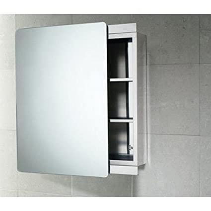 Amazon Gedy Kora Stainless Steel Cabinet With Sliding Mirror