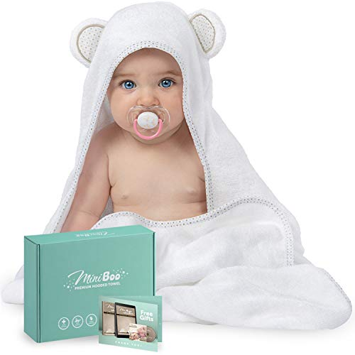 Miniboo Organic Bamboo Hooded Towel product image