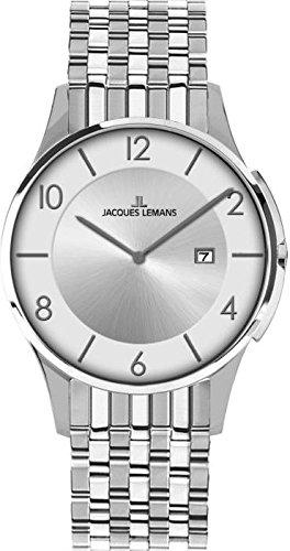 Jacques Lemans London Mens Wristwatch Flat & light
