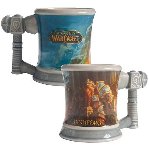 World of Warcraft Ironforge Coffee Mug