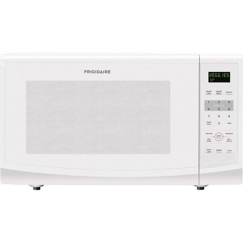 Frigidaire FFCE2238LW 1200-watt Countertop Microwave, 2.2 Cubic Feet, White