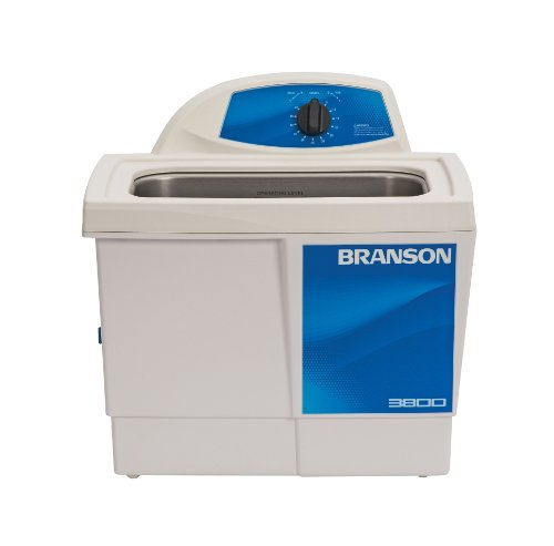 Branson Ultrasonics CPX-952-316R Series M Mechanical Cleaning Bath with Mechanical Timer, 1.5 Gallons Capacity, 120V